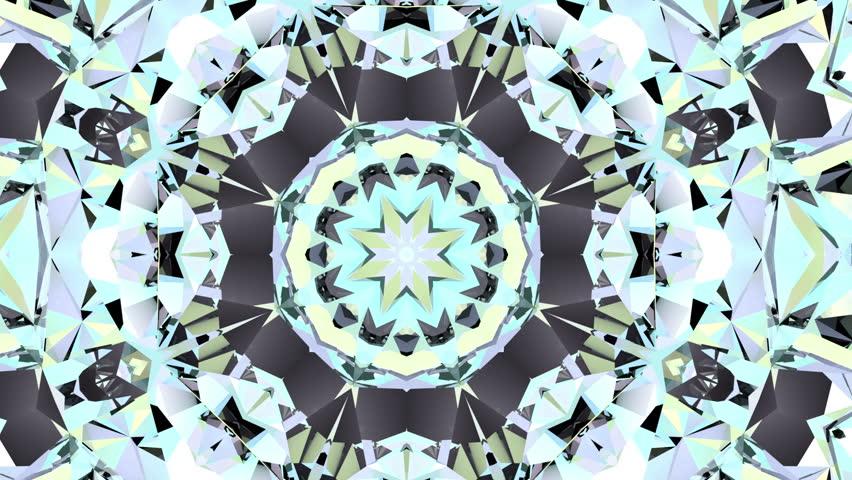 Abstract kaleidoscope animation   Shutterstock HD Video #21586969