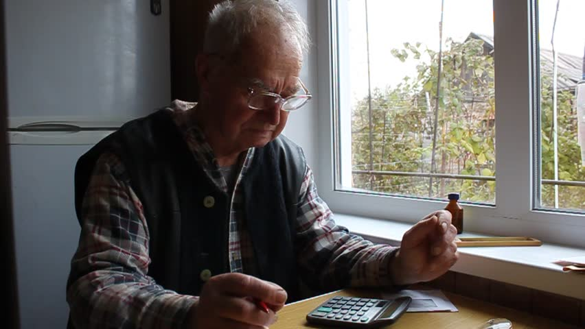 the old man said on the calculator accounts #21604849