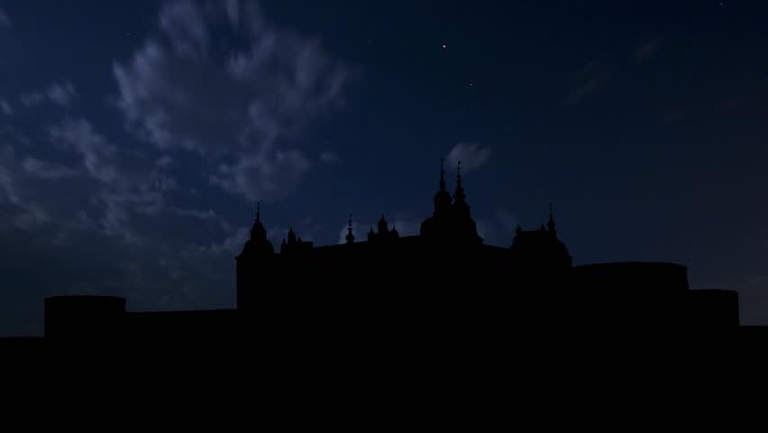 Kalmar Castle, or Kalmar slott, is a medieval castle in Kalmar, in the province of Smaland in Sweden.     Shutterstock HD Video #2165033