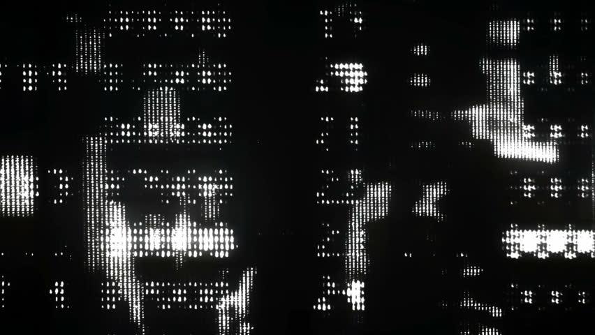 Black and White Glitch Core