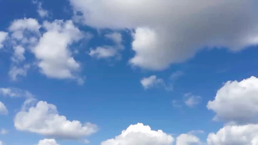 Timelapse of Clouds and Blue Sky.  | Shutterstock HD Video #21687022