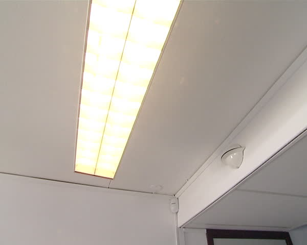 Turn Off Fluorescent Lights Hanging