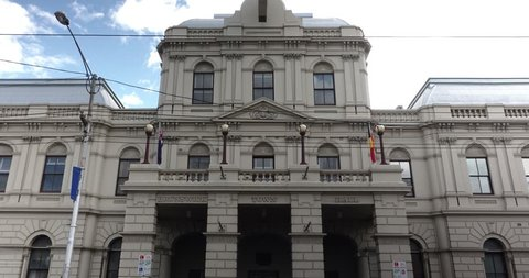 Melbourne Time Lapse. Brunswick City Hall