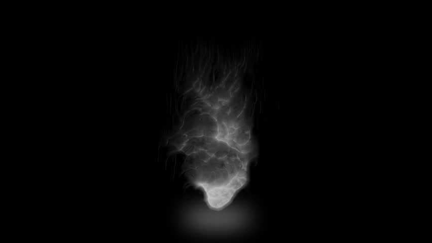 High quality motion animation representing mystical fire or magic special effects, animated on a black background. | Shutterstock HD Video #21798964