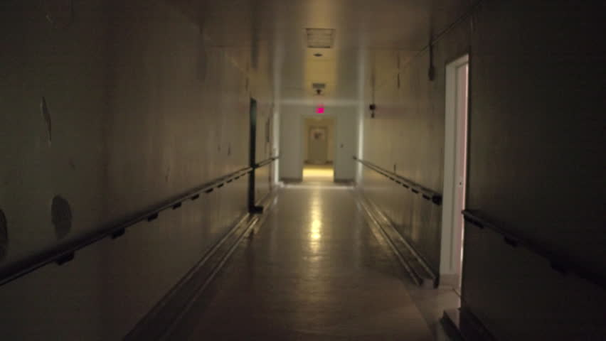 Hospital Spooky Hallway Haunted abandoned