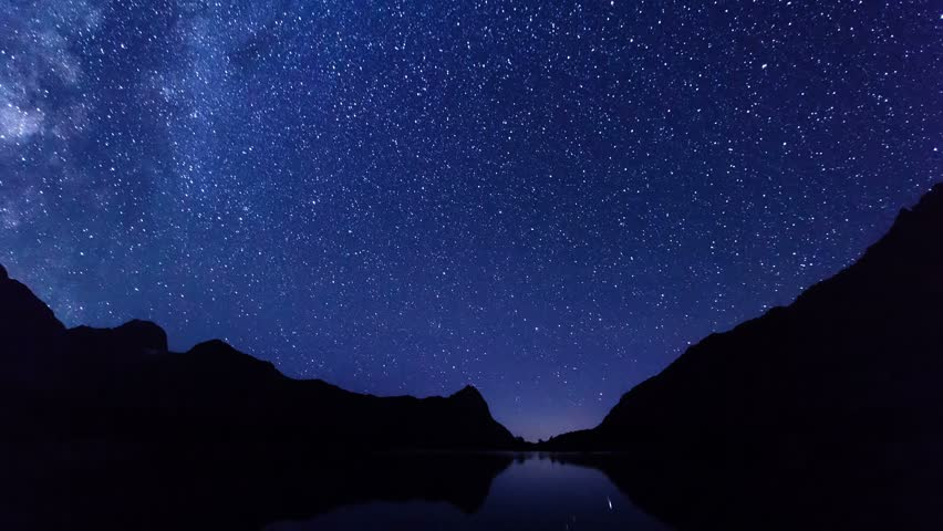 Night-day, sunrise over the lake timelapse. | Shutterstock HD Video #21839002