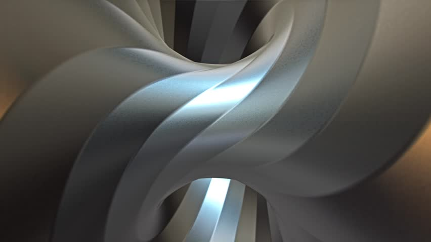 An industrially styled hyper torus looping animation. This video is a 3D rendering. This item is variation 1 of 4. | Shutterstock HD Video #21858958