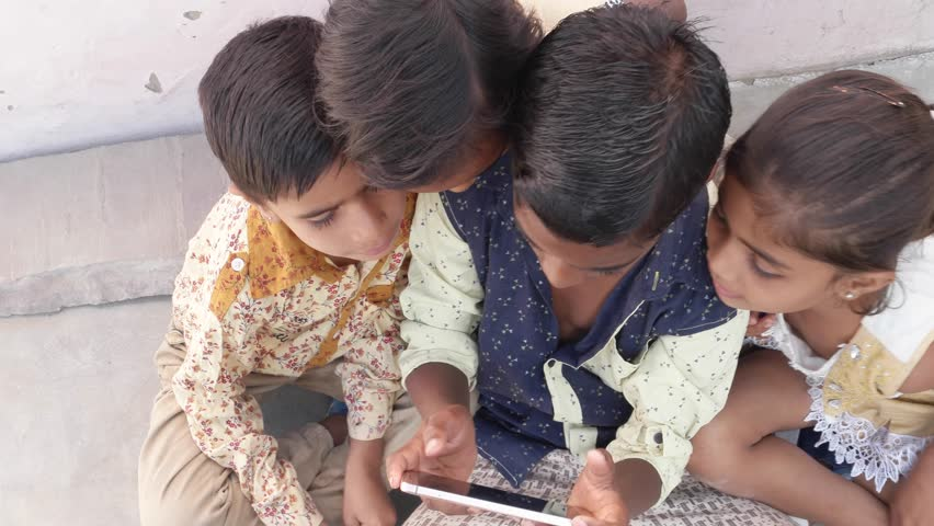 Indian Kids Sharing a Touch Stock Footage Video (100% Royalty-free) 21882271   Shutterstock