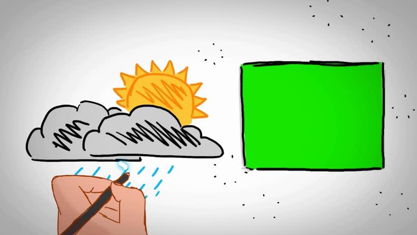 Hand-drawn animation -  Caucasian | Shutterstock HD Video #21904297
