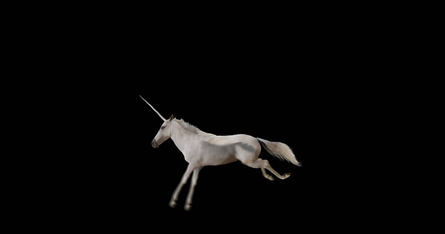 Pegasus and winged Unicorn flying on a transparent background. The first flying horse with horn, and the second without horn. Isolated and cyclic animation. Seamless loop. Alpha channel.  Royalty-Free Stock Footage #21909640