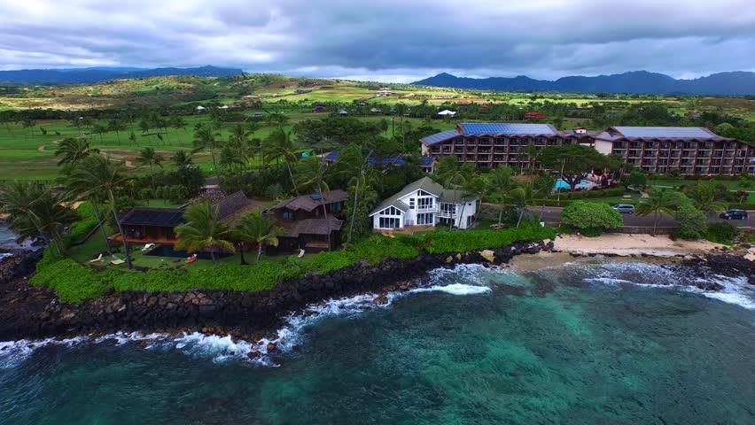 NaPali Coast Hawaii, Stunning Views | Shutterstock HD Video #21922933