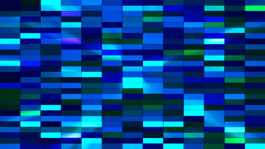 """This Background is called """"Twinkling Horizontal Small Squared Hi-Tech Bars 06"""", which is 4K (Ultra HD) Background. It's Frame Rate is 25 FPS, it is 7 Seconds Long, and is Seamlessly Loopable. 