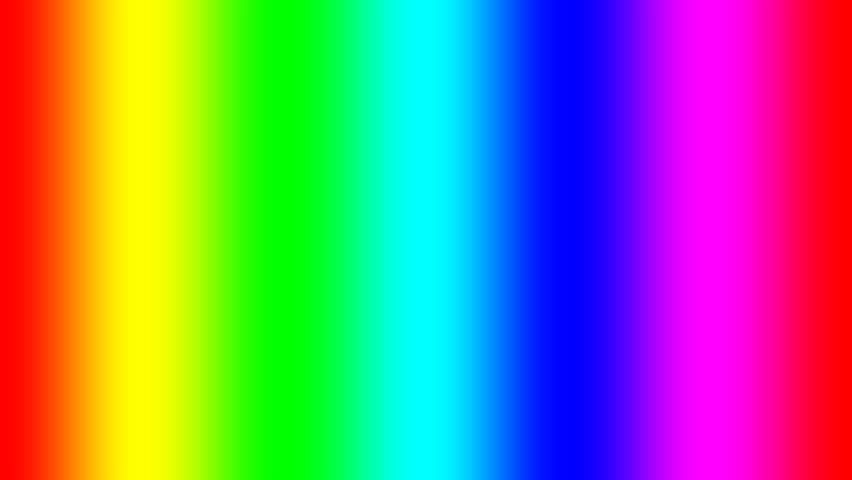 Rainbow spectral gradient moving slowly right, seamless loop | Shutterstock HD Video #21961324