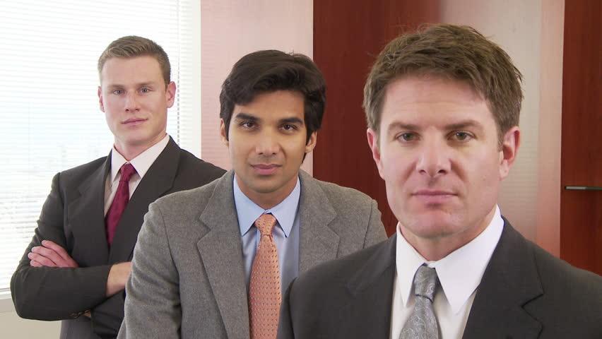 Portrait of three businessmen #2196550