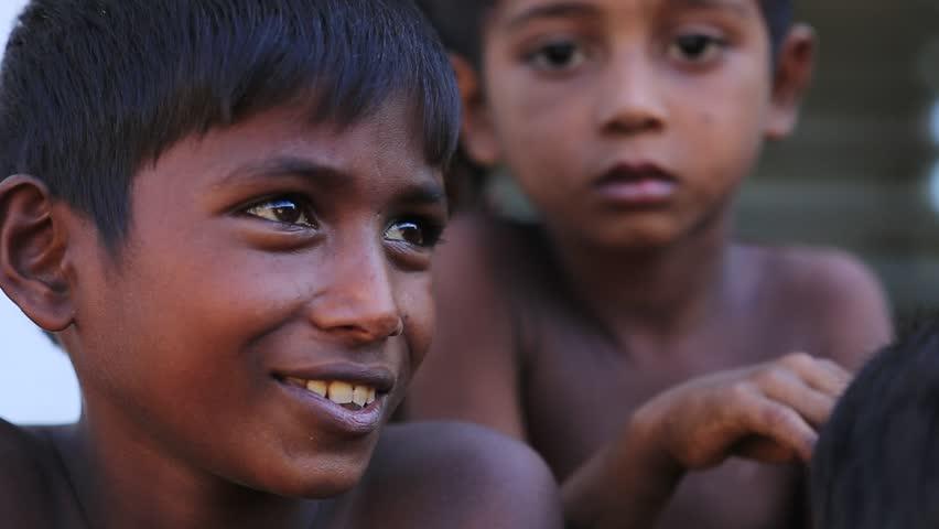 RAKHINE STATE, MYANMAR - NOVEMBER 05 : Hundreds of Muslim Rohingya are suffering severe malnutrition in overcrowded camps in Myanmar's Rakhine state, on NOVEMBER, 2015 in Sittwe, Myanmar.   Shutterstock HD Video #22008910