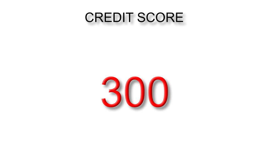 Increasing Credit Score White Background | Shutterstock HD Video #22038826