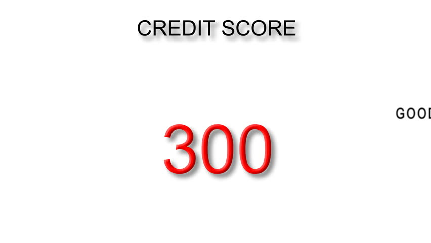 Increasing Credit Score Moving Background | Shutterstock HD Video #22038853