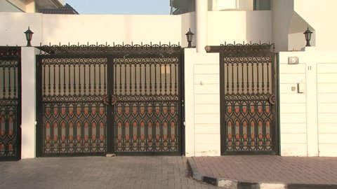 View of The Gate at DIFC Dubai International Financial Centre (free Stock  Photo - Alamy
