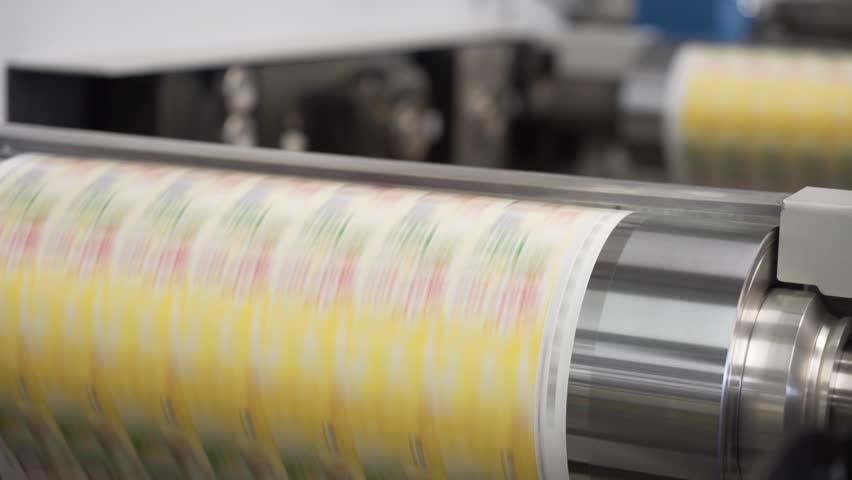 Label Printing Rolls