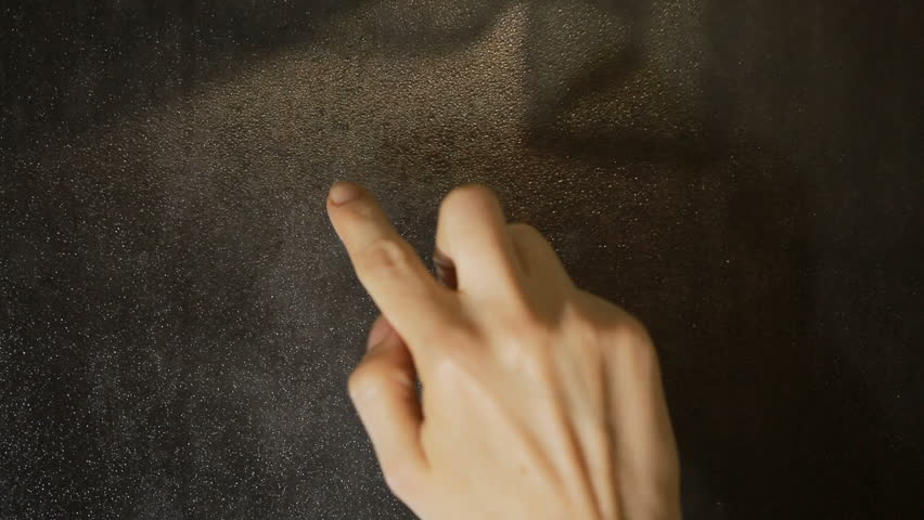 Heart drawing with your finger on the sweaty glass   Shutterstock HD Video #22108618