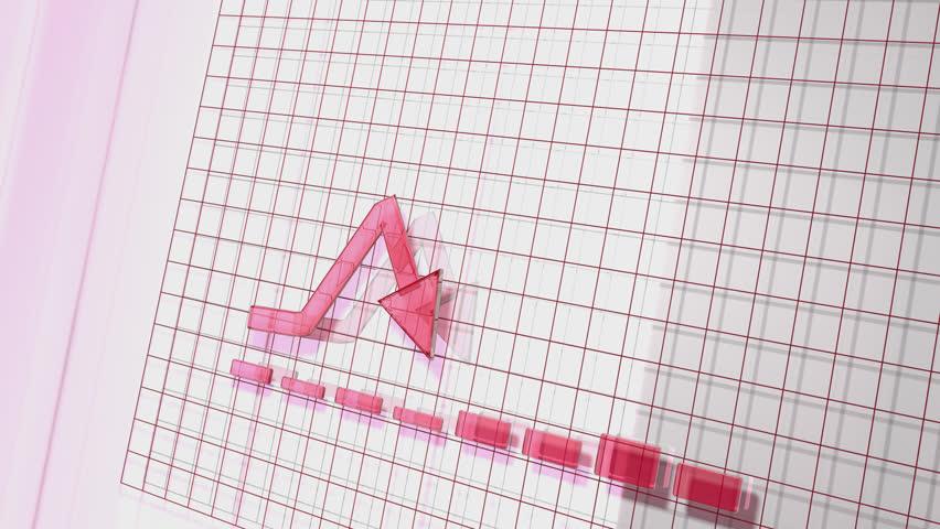 Red Business Arrow Animated Upward Graph   Shutterstock HD Video #22140856