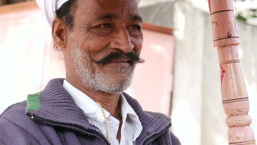 Milk Vendor in Jaipur, India
