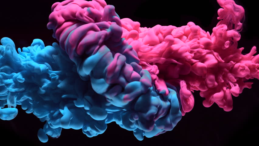Ink in water. Slow Motion. Shot with high speed camera, phantom flex 4K. Slow Motion. | Shutterstock HD Video #22151917