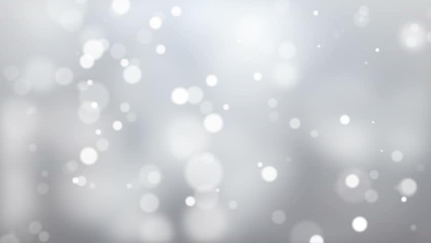 Glittering White Bokeh Lights Background #22201873
