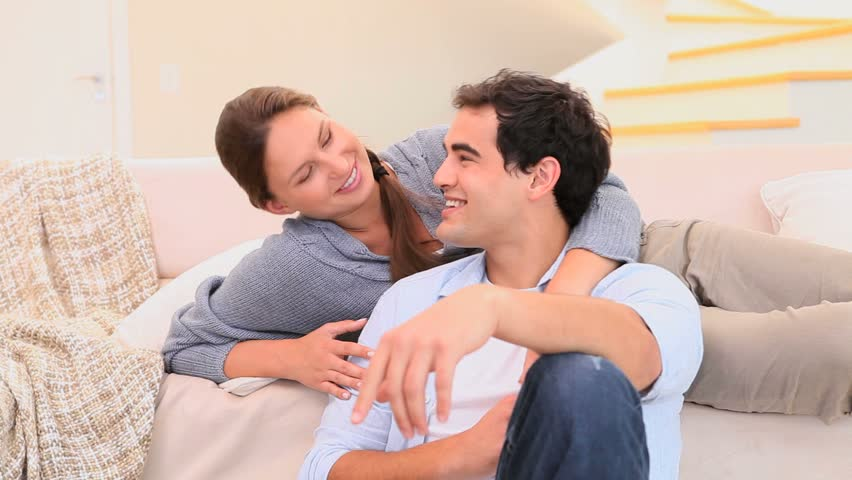 Cute Couple Smiling at Each Stock Footage Video (100% Royalty-free ...