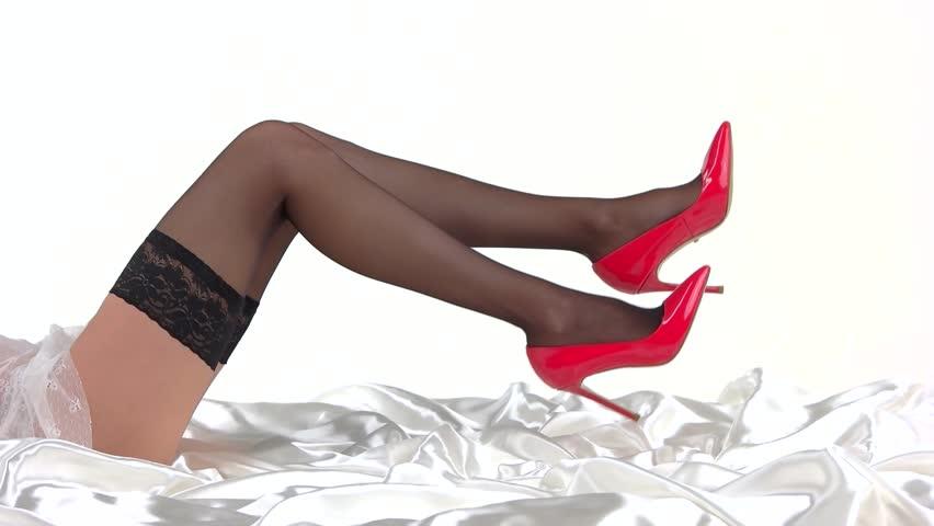 Short Skirts High Heels