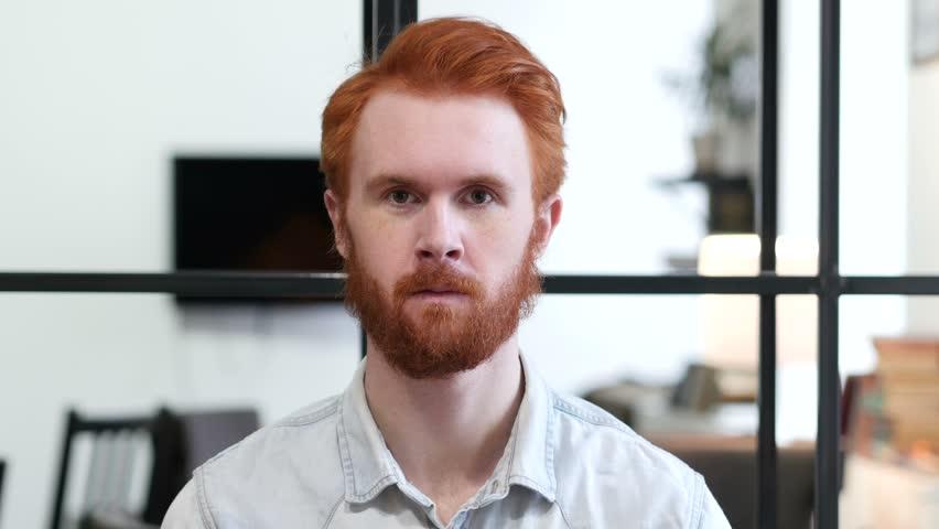 Portrait of Beard Man | Shutterstock HD Video #22247389