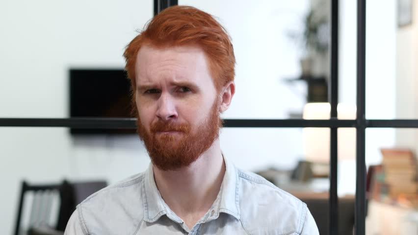 Shaking Head to Agree, Yes by Beard Man | Shutterstock HD Video #22247443
