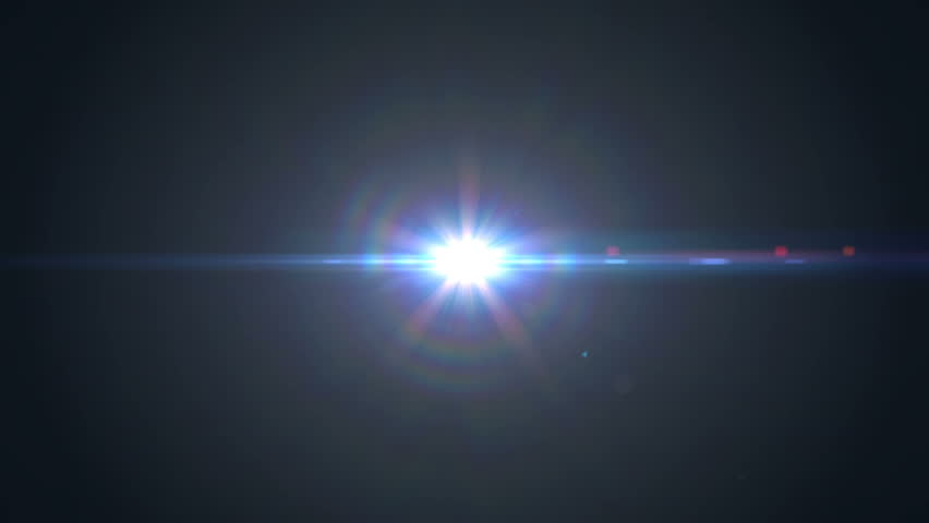 Anamorphic lens flare | Shutterstock HD Video #22292698