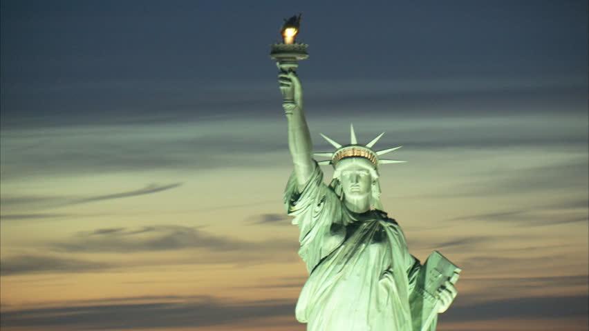 Statue of liberty close-up | Shutterstock HD Video #22309501