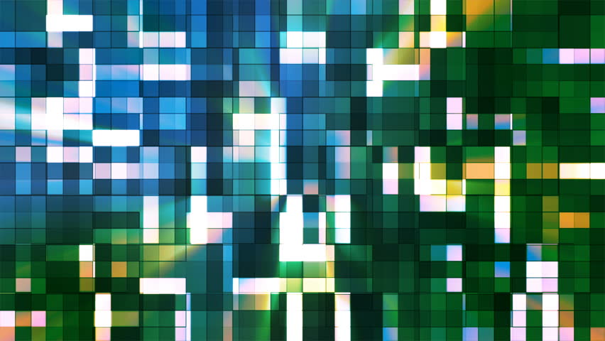 """This Background is called """"Broadcast Twinkling Squared Hi-Tech Blocks 18"""", which is 4K (Ultra HD) Background. It's Frame Rate is 25 FPS, it is 7 Seconds Long, and is Seamlessly Loopable. 