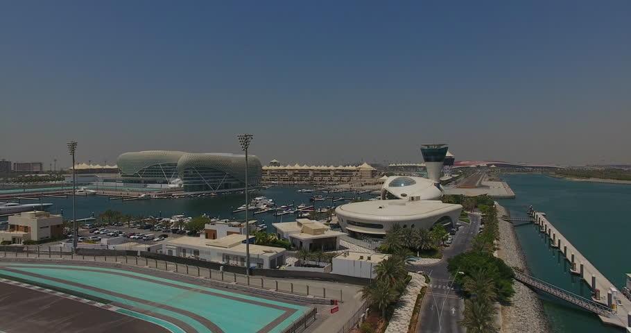 Abu Dhabi Yas Marina By Drone