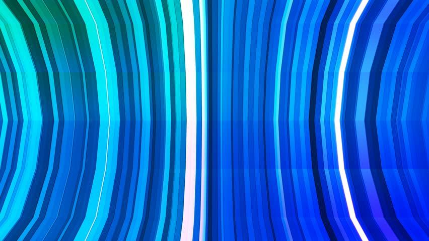 Broadcast Twinkling Vertical Bent Hi-Tech Strips, Green Blue Cyan, Abstract, Loopable, 4K | Shutterstock HD Video #22427020