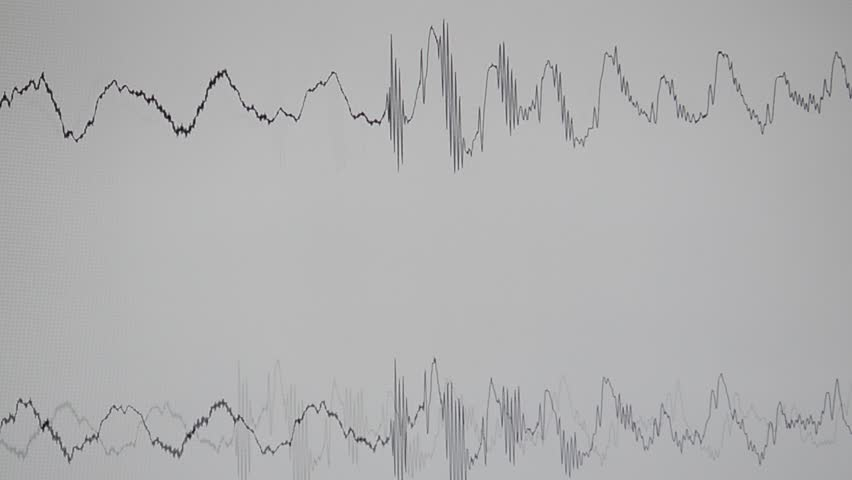 Oscilloscope, audio wave