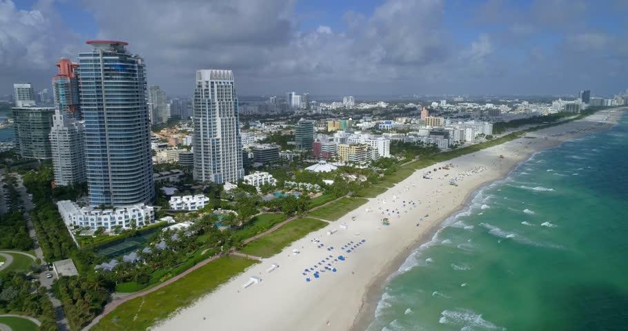 Miami Beach stock aerial footage 4k 60p   Shutterstock HD Video #22469269