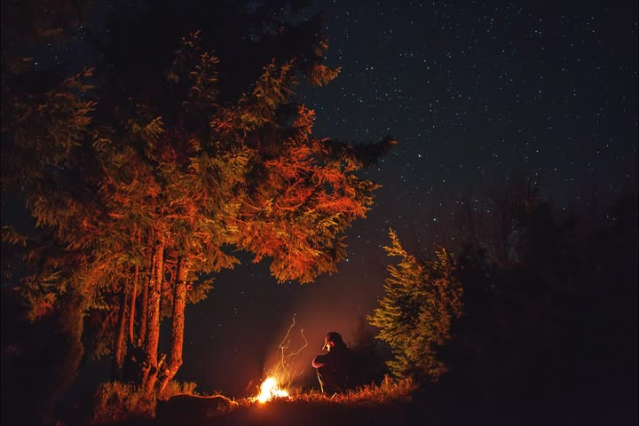 Beautiful Night Time Lapse | Shutterstock HD Video #22605982