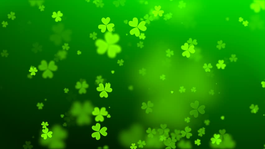 Green hearts on the day of St. Patrick | Shutterstock HD Video #22627309