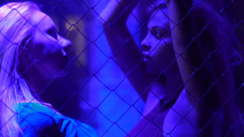 Two females enjoying music and dancing at night club, night life, relaxation | Shutterstock HD Video #22632184