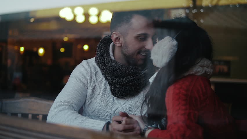 Beautiful Romantic Couple Looking at Each Other | Shutterstock HD Video #22643110