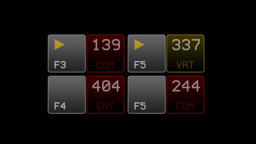 4k IT software data interface numbers. 6412_4k | Shutterstock HD Video #22651750