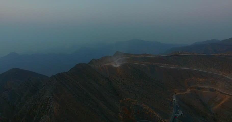 At the Top of Jabal al Jais Mountain RAK