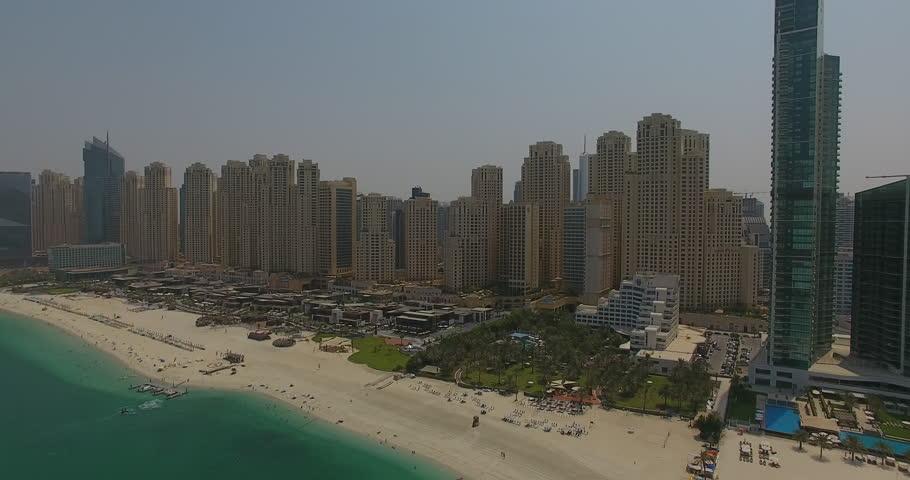 Dubai Beach and City
