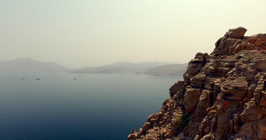 Coastal Mountains of Musandam Sultanate of Oman