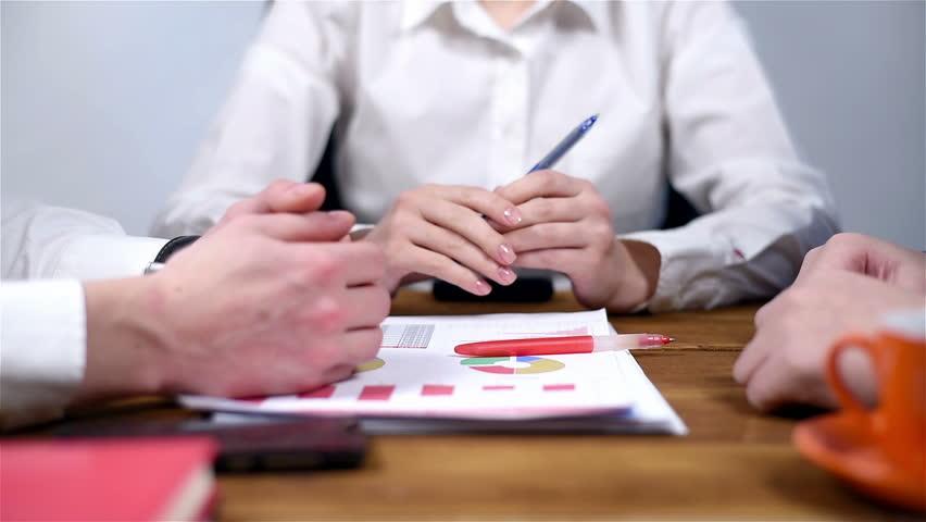 Two Businessmen Shaking Hands. Handshaking After Good Deal. Slow Motion Effect | Shutterstock HD Video #22723837