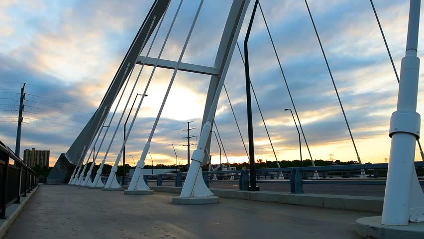 Lowry Avenue Bridge Time Lapse, Minneapolis Minnesota #22738156