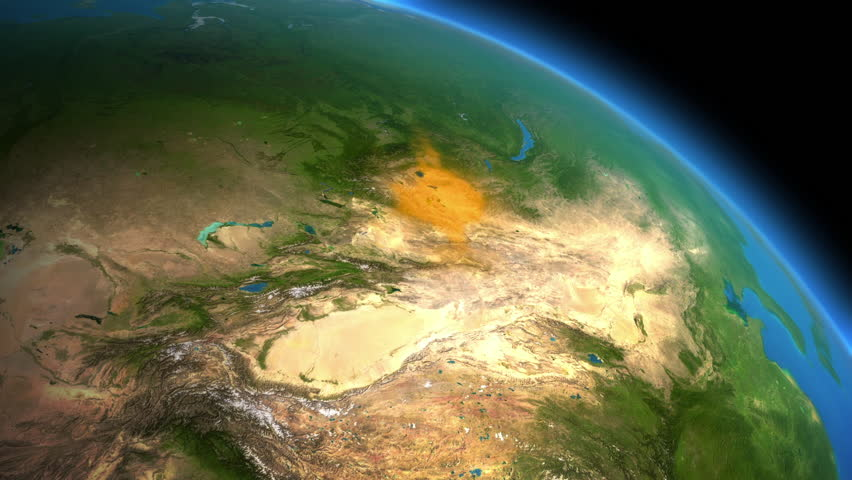 Mongol Conquest, Genghis Khan's Mongol Empire in XIII century.